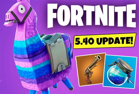 fortnite  update epic games early patch notes reveal