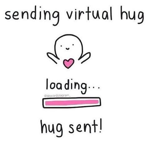 Hug Meme - virtual hug lol we heart it cute things pinterest