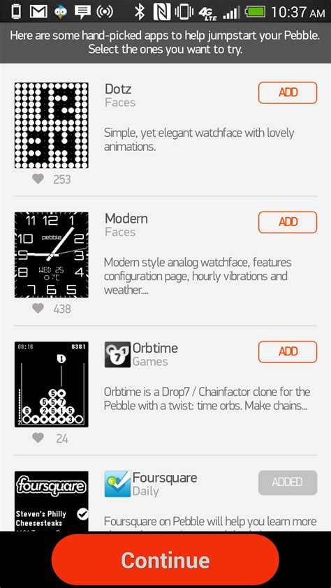 pebble apps for android pebble app store makes it to android in beta form