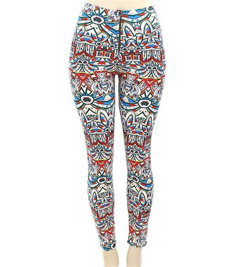 tribal pattern tights leggings le chic tribal pattern tribal leggings