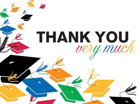 Mba Graduation Thank You Notes by Graduation Toss Thank You Notes