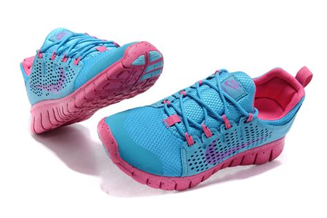blue pink nike free 3 0 s running shoes 006 76 00