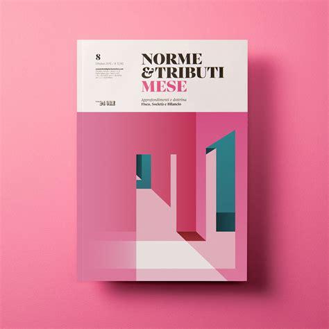design cover norme tributi mese il sole 24 ore on behance
