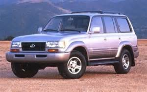 used 1997 lexus lx 450 suv pricing features edmunds