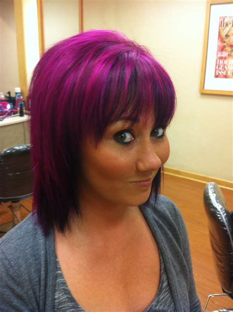 purple hair for black women purple hair for women 35 excessively radical touches