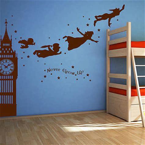 peter pan bedroom wallpaper best peter pan wall sticker products on wanelo
