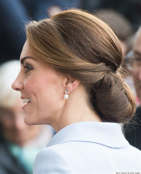 hairnet hairstyles the secret to kate middleton s perfect chignon is a hairnet