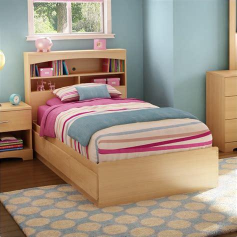 children twin bed  storage
