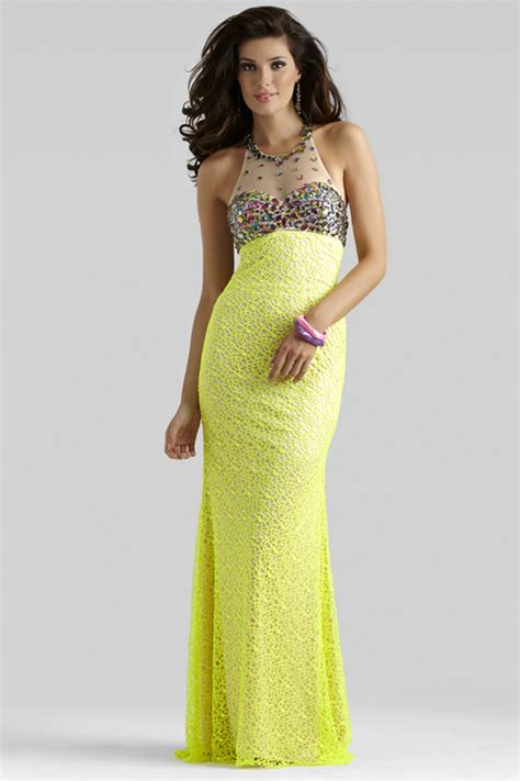 Dress Yellow yellow prom dress 2336 by clarisse