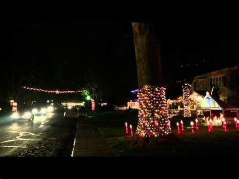 sacramento fab 40 s christmas lights youtube