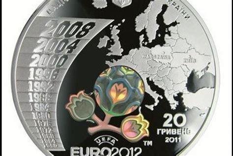 Mata Uang Koin ukraina luncurkan uang koin piala eropa 2012 republika