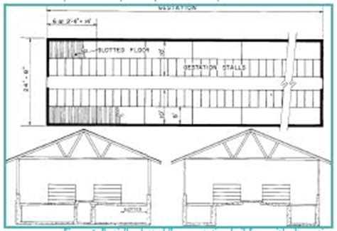 pig housing plans pig farming housing plan house design plans