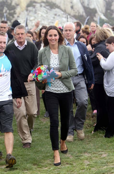 """Kate Middleton says George is doing """"very well"""" and at"""
