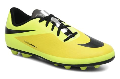 Nike Jr Hypervenom Phade Fg R nike jr hypervenom phade fg r jaune chaussures de