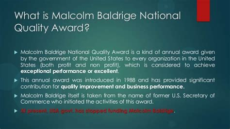 baldrige homepage baldrige national quality program malcolm baldrige award
