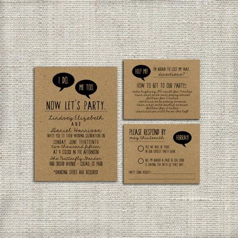 Wedding Invite Kits Paper by Diy Wedding Invitation Suite Deposit Printable Custom