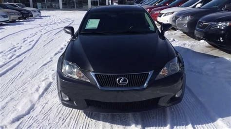 2009 lexus is250 awd review start up and walkaround youtube pre owned 2009 dark grey lexus is 250 awd leather with