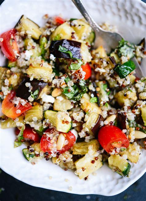 protein quinoa salad quinoa and kale protein power salad foodiecrush