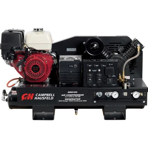 cbell hausfeld 3 in 1 air compressor generator welder with honda engine model gr3100