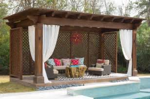 cabana designs ideas pool tropical with lounge chair wood