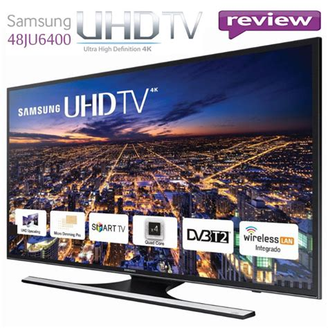 Samsung 121 Blue by Review Televizor Led Smart Samsung 121 Cm 48ju6400 4k