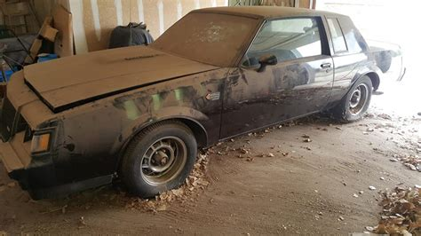 Barn Find by Two Like New Buick Grand Nationals Are The Barn Finds Of