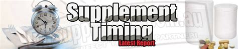 supplement timing supplement timing the report mrsupplement au