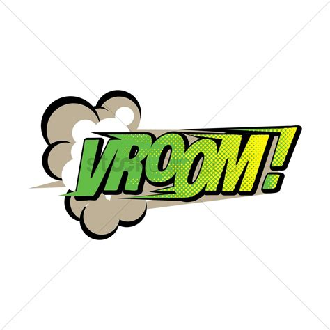 v room comic effect vroom vector image 1607262 stockunlimited