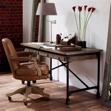 escritorio hierro y madera escritorio mesa industrial hierro y madera madera y
