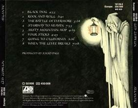 led zeppelin iv untitled discography lyrics covers