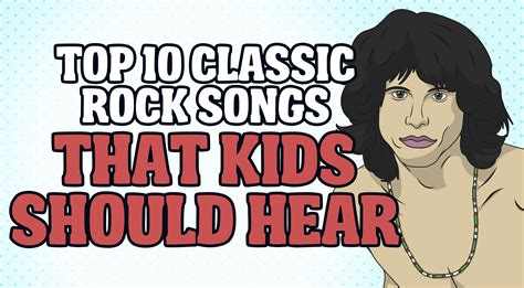 10 Children That Rock by Top 10 Classic Rock Songs That Should Hear Rock Pasta