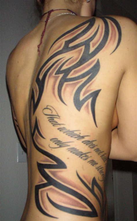 tattoo tribal ribs back rib tribal tattoo