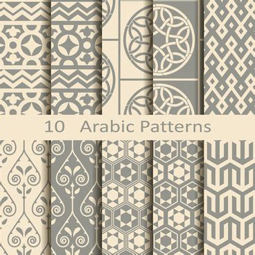 arabic pattern ai download arabic pattern vector free vector download