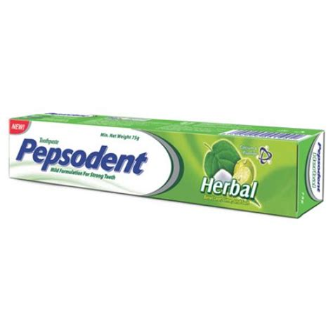 Pepsodent Herbal pepsodent toothpaste herbal 150g care gomart pk