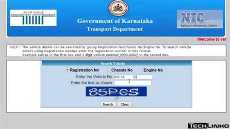 Vehicle Address Search How To Check Vehicle Registration Details In Karnataka