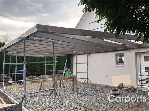 Carport Verkleiden Bilder by Carport Verkleiden Bilder Bruns Blick Auf Schwarzes Mit