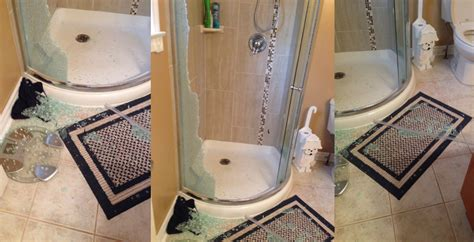 Glass Shower Door Suddenly Explodes Exploding Glass Shower Doors Suggestions Tips 157 Grassroots 174 The Inspection Specialists
