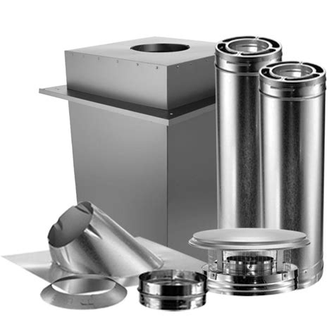 chiminea flue kit duravent duraplus 6 in wall manufactured home