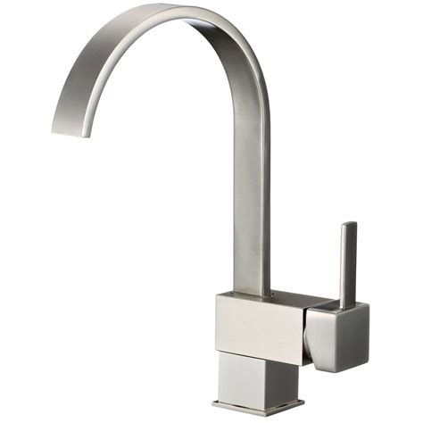 pull down kitchen faucet brushed nickel single handle pull down sprayer kitchen faucet in brushed