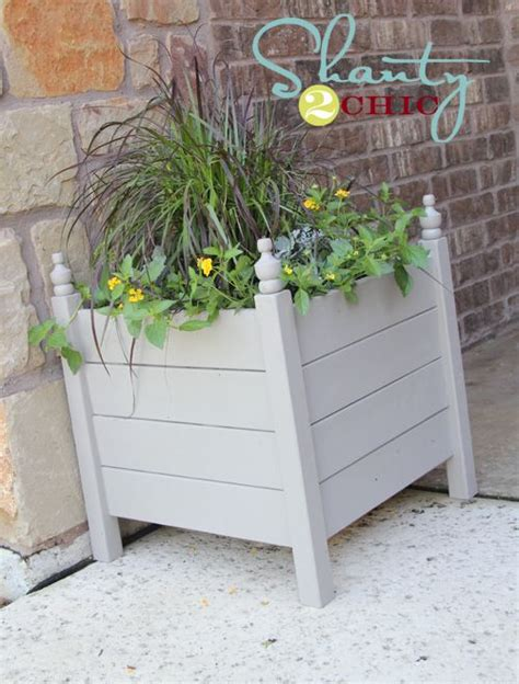 Diy Rectangle Planter by 25 Trending Outdoor Planters Ideas On Trellis
