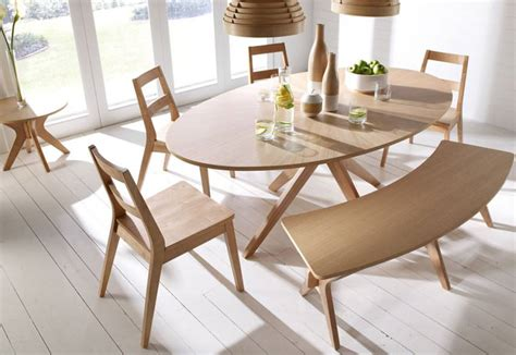 Scandinavian Style Dining Table Lpd Furniture Malmo Oak Dining Collection Scandinavian Styling Dining Table And 4 Chairs