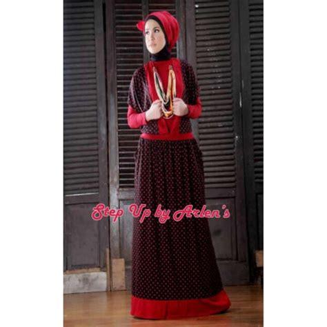 Manset Spandex Hitam Terlaris su stella hitam merah baju muslim gamis modern