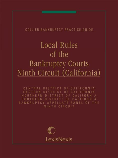 local rules of the bankruptcy courts 9th circuit