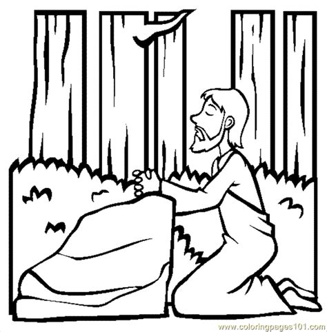 the garden of gethsemane coloring page free garden