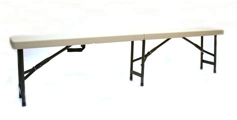 bench folding plastic folding benches 18m white blow mold folding bench