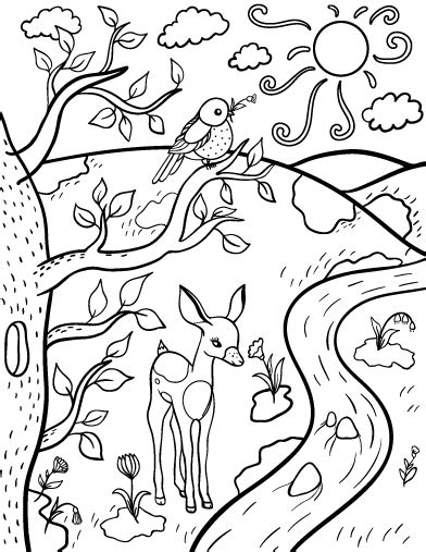get this free preschool spring coloring pages to print p1ivq spring coloring worksheets gulfmik 2cc44f630c44
