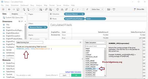 tableau tutorial calculated field calculated field in tableau