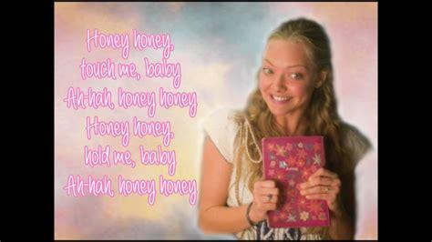 amanda seyfried dancing queen lyrics mamma mia the movie honey honey lyrics video full song