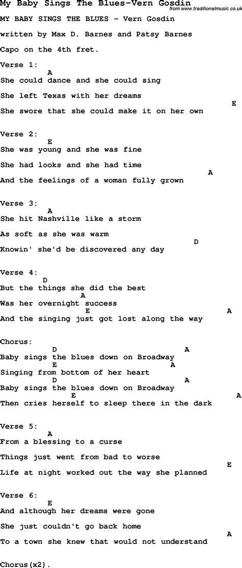 Baby Blue Guitar Chords