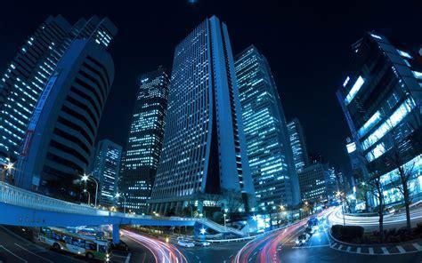 Japan tokyo cityscapes city lights shinjuku wallpaper